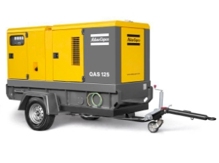 Atlas Copco QAS 125, Generator