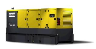 Atlas Copco QAS 500, Generator