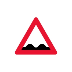 Advarselstavle A37, 70 cm