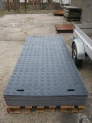 Køreplade, 200 cm x 115 cm x 10 mm