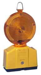Blinklygte, 2-sidet, m/fotocelle