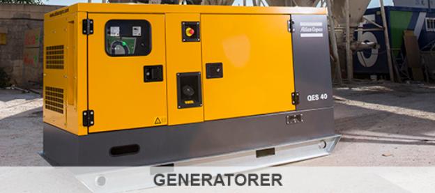 Atlas Copco Generatorer