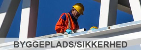 Tilbud på produkter inden for byggepladsindretning og sikkerhed