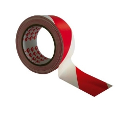 Advarselstape, Rød/Hvid