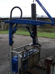 SOLGT - Alvac Flex 1600 (hydraulik), Brugt vakuumsuger
