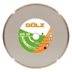 Gölz UG 20, Ø125-22,2 mm, Diamantskive