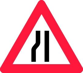 Advarselstavle A43.2, 70 cm
