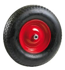 Punkterfri PUR-hjul, f/mørtel- og trillebør