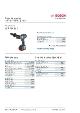 Produktblad, Bosch GSB18V-85C