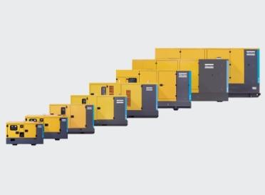 Atlas Copco Generatorer op til 500 kVa