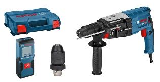 Bosch Borehammer GBH2-28F + GLM 30