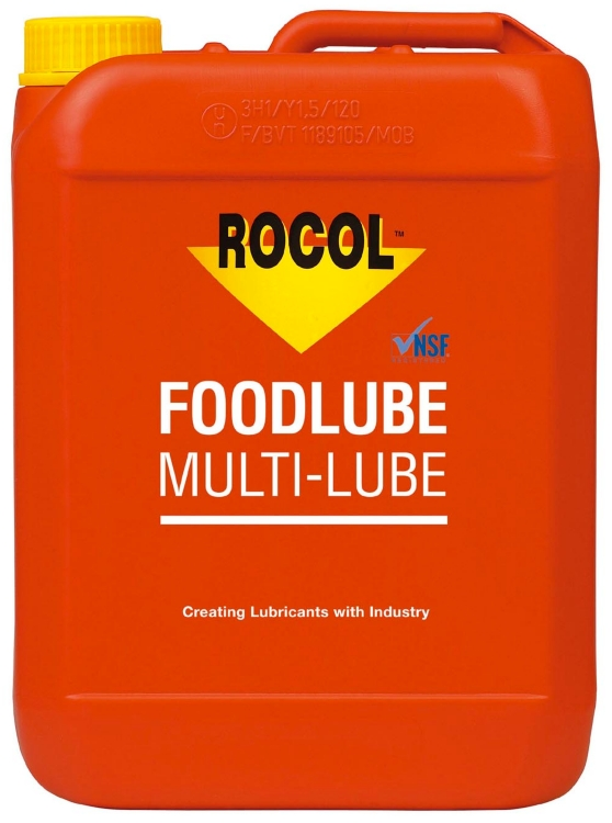 Rocol Foodlube Multi-Lube, Dunk, 5 l