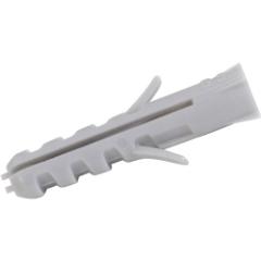 Nylon plugs u/krave, 10x50 mm, 50 stk