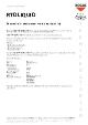 Teknisk datablad, Rocol RTD Liquid skæreolie