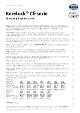 Teknisk datablad, Kema CE-96