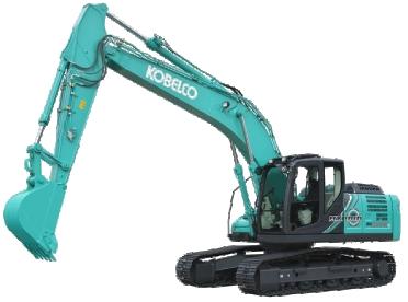 Den nye hybridgravemaskine - SK210H-LC