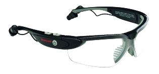 Sikkerhedsbrille, m/bluetooth