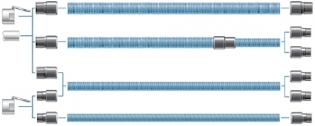 Tilslutningsmuffe, Ø32/38 mm