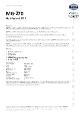 Teknisk datablad, Kema Multifedt MG-270, Spray, 500 ml