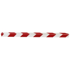 Skurvognshjørne, Refleks, Rød/hvid