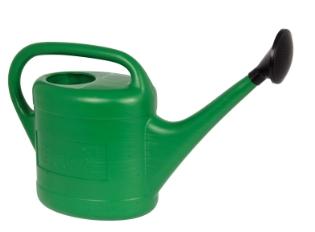 Vandkande m/brusehoved, Grøn, 10 l