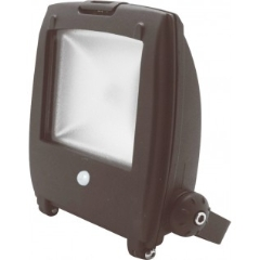 Floodlight LED Projektør m/int.pir 50W