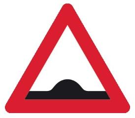 Advarselstavle A36, 70 cm