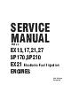 Servicemanual, Robin Subaru EX27-D