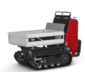C&F T85, Motorbør, benzinmotor, m. kasselad