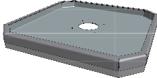 Hamevac Sugekop inkl. Quick Kobling 500x500 mm, t/ VHU-700