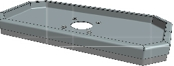 Hamevac Sugekop 300x600 mm, t/ VTH-150-BL