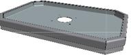 Hamevac Sugekop 400x600 mm, t/ VTH-150-BL