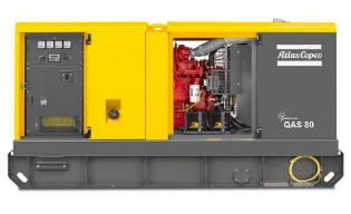 Atlas Copco QAS 80, Generator