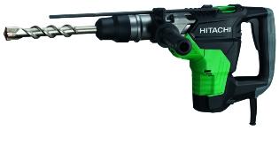 Hitachi DH40MC, Kombihammer, inkl. 7x SDS-MAX bor & 2x SDS-MAX Mejsel