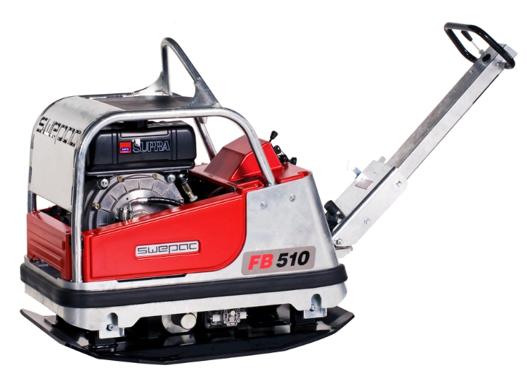 Swepac FB510, Pladevibrator