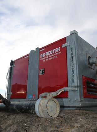 Dieselpumpen Impulse IP175H - Købt af Nordjysk Grundvandssænkning ApS