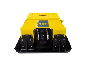 Epiroc HC1050 Pladevibrator (360° rotation), Maskinbåren