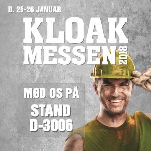 Erenfred Pedersen A/S deltager på dette års kloakmesse