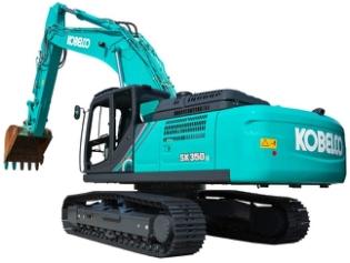 Kobelco SK350LC-10, Gravemaskine