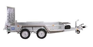 Maskintrailer, 3518 M4 fra Variant