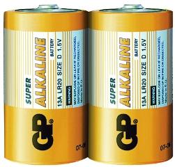 Super Alkaline LR20/D, 20-pak