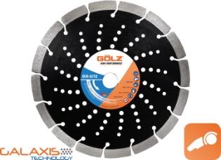Gölz GX-U12, Ø230, Diamantskive