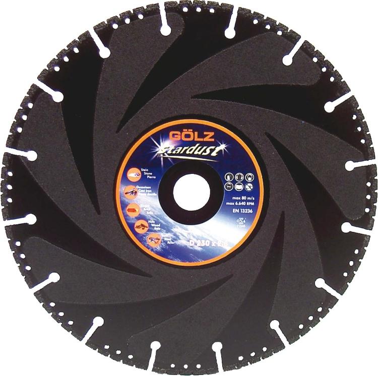 Gölz Stardust, Ø350x25,4 mm, Diamantskive